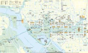 Mt Washington Map by Washington D C Tourist Map
