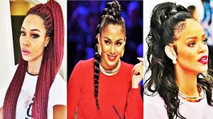 latest cool ponytail hairstyles for african american women youtube