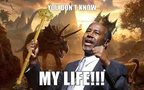 Ben Carson Meme - ben carson king of the dinosaurs memes