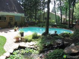 amenagement exterieur piscine piscine creusée aménagement paysagiste recherche google