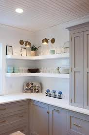 kitchen cabinet space corner storage 25 corner shelves ideas to improve kitchen storage and look
