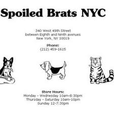 spoiled brats 39 reviews pet stores 340 49th st theater