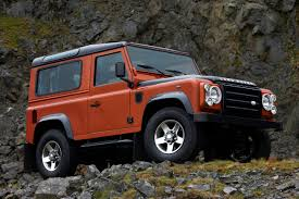 red land rover defender land rover defender photo gallery autoblog