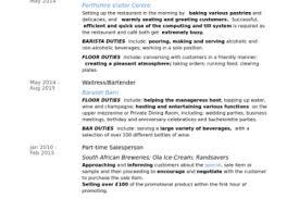 Baker Resume Sample by 100 Barista Resume Sample Cna Z Os System Programmer Resume