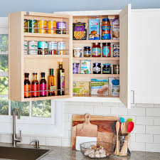 Storage For Kitchen Cabinets Swing Out Storage Kitchen Cabinets The Family Handyman