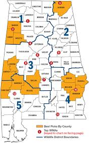 County Map Of Alabama Best Big Buck States For 2014 Alabama Game U0026 Fish