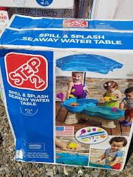 step2 spill splash seaway water table step 2 spill and splash seaway water table baby kids in winston