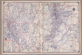nevada road map road map of nevada utah david rumsey historical map collection