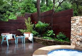 Backyard Fence Styles by Patio Privacy Fence Ideas Amazing Privacy Fence Panels Decorating