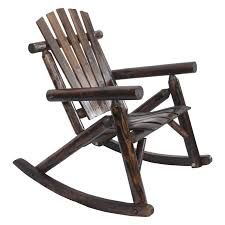 Rocking Folding Chair Lakeland Mills Classic Cedar Log Rocking Chair Hayneedle