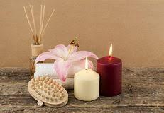 composizione di candele massaggio della stazione termale della composizione bamb禮
