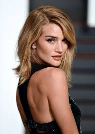 rosie huntington side parted lob rosie huntington whiteley photos photos stars at the vanity fair