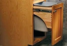 under sink trash pull out cool under cabinet trash can holder under sink trash can holder