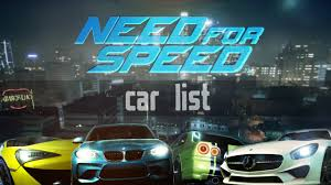 lexus is300 nfs wiki need for speed 2015 car list youtube