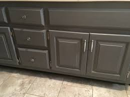 Gray Bathroom Vanity Best Paint Finish For Bathroom Cabinets Best Bathroom Decoration