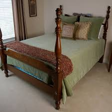4 Post Bed Frame Thomasville Size Four Post Bed Frame Ebth