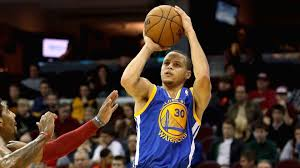young stephen curry playing basketball in the 8th grade