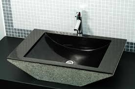 stone vessel bathroom sinks natural sinks single hole vanity