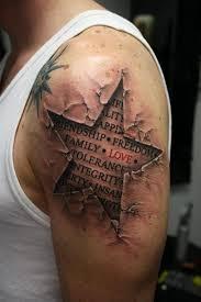 54 star tattoos ideas for men