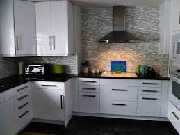 White Kitchen Backsplash Ideas by Glass Kitchen Backsplash Ideas The Best Home Design