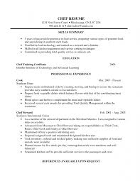 Steward Resume Sample by Resume Samples For Cooks Resume Template Free