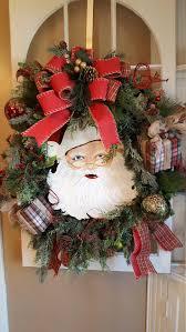 large christmas wreath christmas wreath santa wreath door