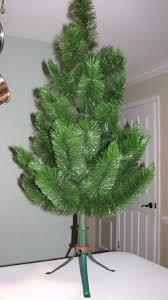 vtg woods sprite 4 bottle brush scotch pine artificial