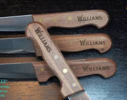 Wedding Gift Knife Set Steak Knife Etsy
