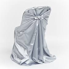 folding chair cover grey satin folding chair cover luxe event rental