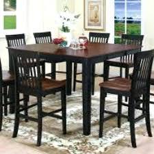 tall black dining table u2013 mitventures co
