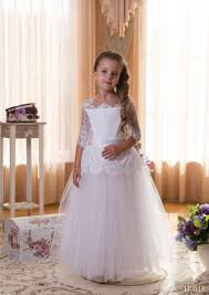 where to buy communion dresses aliexpress buy 2015 fashionable white lace half sleeve