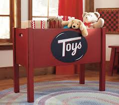Barn Toy Box Woodworking Plans Rustic Toy Box Pottery Barn Kids