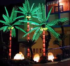 ideas palm tree light fixture entracing indoor residential