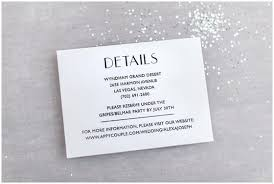 wedding invitations details card the essential guide to wedding invitation info cards roseville