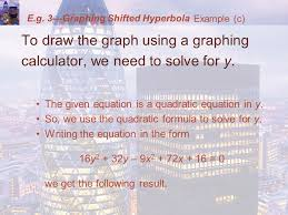 e g 3 graphing shifted hyperbola