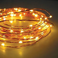 copper string led light 10m 100 led usb operated wire decorative