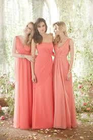 best 25 coral bridesmaids ideas on pinterest coral bridesmaid