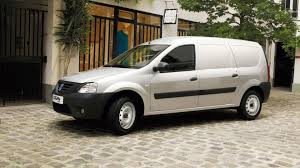 renault logan 2007 dacia logan van revealed