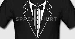 tuxedo shirt polo shirt spreadshirt