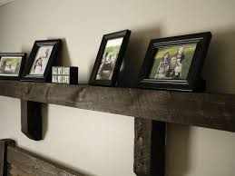 Wood Gallery Shelves by How Building Rustic Wood Floating Shelves U2014 Jen U0026 Joes Design