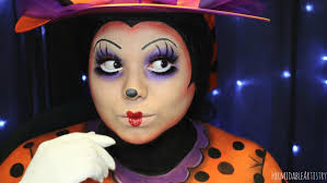 formidableartistry minnie mouse halloween makeup 31 days of