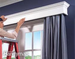 Pre Made Cornice Boards How To Build Window Cornices Google Images White Wood And Google