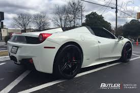 ferrari 458 black ag luxury wheels ferrari 458 italia forged wheels