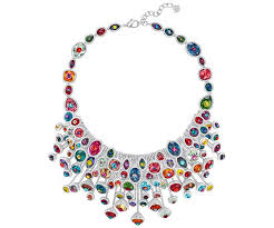 fairy jewelry necklace images Luminous fairy necklace multi coloured rhodium plating jpg