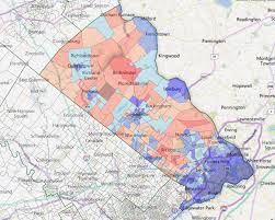 map of bucks county pa towns a look at bucks pa s most critical swing county maps politicspa
