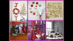 diy christmas home decor 25 wonderful ideas youtube