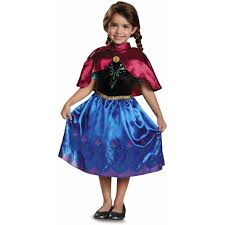 toddler girls halloween costume frozen traveling anna toddler classic costume walmart com