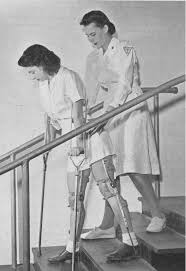 Go Down Stairs by Braces Old Med Ph 089 Ph And Crutch