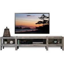 Wall Tv Furniture Gray Coastal Rustic Beach House Entertainment Center Tv Stand