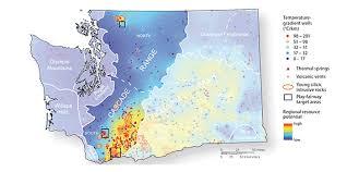 springs washington map geothermal resources wa dnr